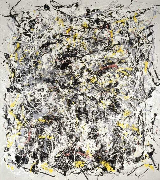 Art & Language, Portrait of V.I. Lenin with Cap, in the Style of Jackson Pollock III