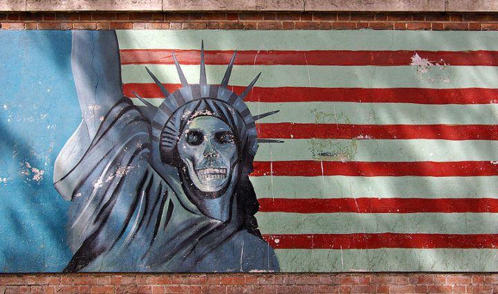 Iran mural