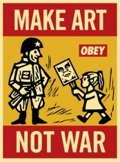 Make Art Not War [Converted]