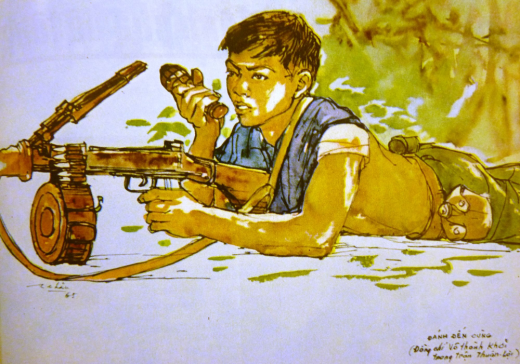 vietnam war art