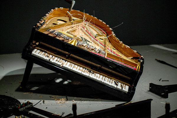 piano deconstruction