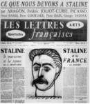 picasso stalin lettres francaises