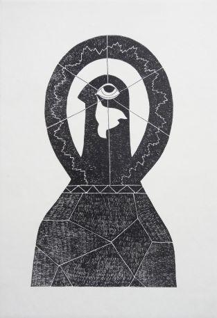 József Jakovits, 'Csend' ('Silence'), from the series 'Revolution', 1956/1989.