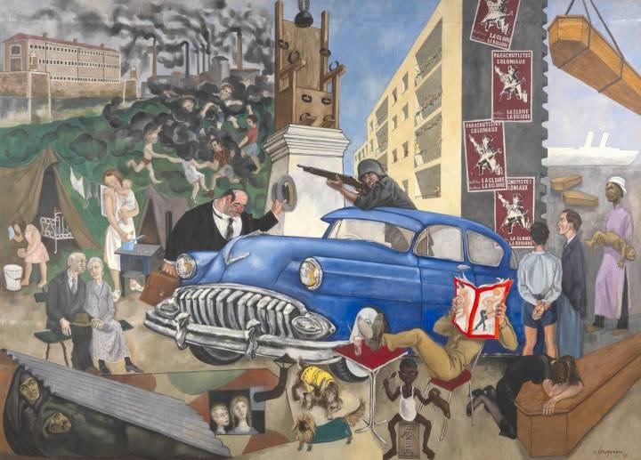 Atlantic Civilisation 1953 by André Fougeron 1913-1998
